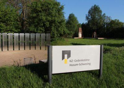 EIngang der KZ-Gedenkstätte Hususm Schwesing